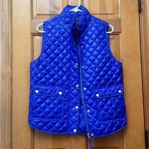 NWT J. Crew Quilted Vest